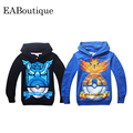 pokemon GAME Sweatshirts hoodies girls boys clothing More color kids clothes cartoon tops casual style 1 pcs