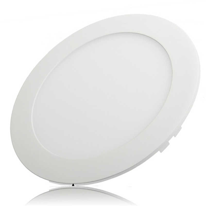 Round LED Ceiling Lamp 3W 6W 9W 12W 15W 25W Recessed Kitchen Ceiling Indoor Light AC85-265V Panel Downlight Driver Included