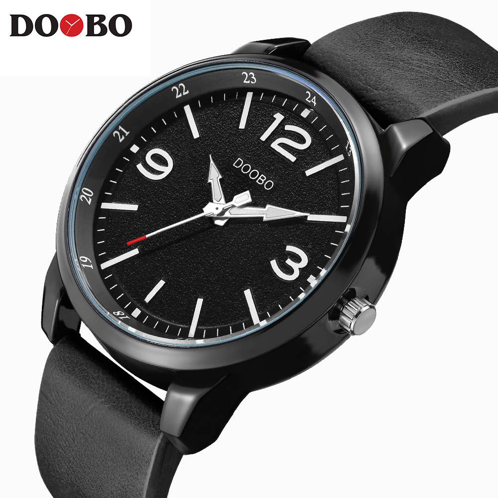 Brand Luxury Men's Watch Date Day Genuine Leather Strap Sport Watches Male Casual Quartz Watch Men Wristwatch Famous Clock D028 цена