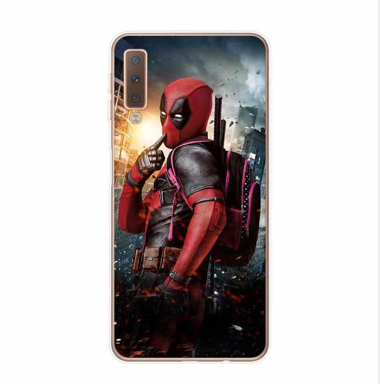 مارفل سوبر أبطال المنتقمون: Endgame سيليكون الحالات الهاتف غطاء لسامسونج غالاكسي A7 2018 A750 A10 A30 A50 M10 M20 A6 A8 2018