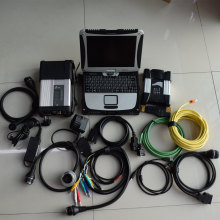 Super mb star diagnostic c5 for bmw icom next 2IN1 with hdd 1tb newest software with laptop cf19 ram 4g full set ready to use