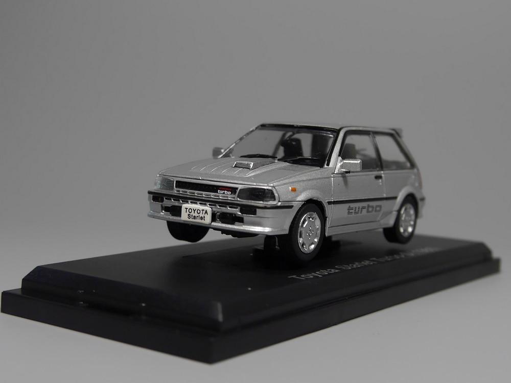 Auto Inn - ixo 1:43 Toyota Starlet Turbo-S 1986 Diecast model car cheverolet monza ixo chevrolet car 1 43 model