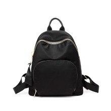 Купить с кэшбэком Women Oxford Backpack Fashion College Student School Backpack Bags for Teenagers Waterproof Mochila Rucksack Daypack Travel Bags