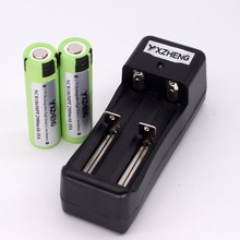 2pcs NCR18650PF high drain 3.6V 2900mAh Rechargeable Battery 10A Discahrge+1PCS Charger