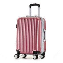 YISHIDUN 20,24 Spinner wheel, Women waterproof, shock Travel Suitcase, Men Trolley Case,Aluminum Alloy Frame Rolling Luggage Bag