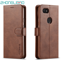Case for Google Pixel 3 XL 3A Casing Leather Flip Phone sFor Card Holder Wallet Stand coque