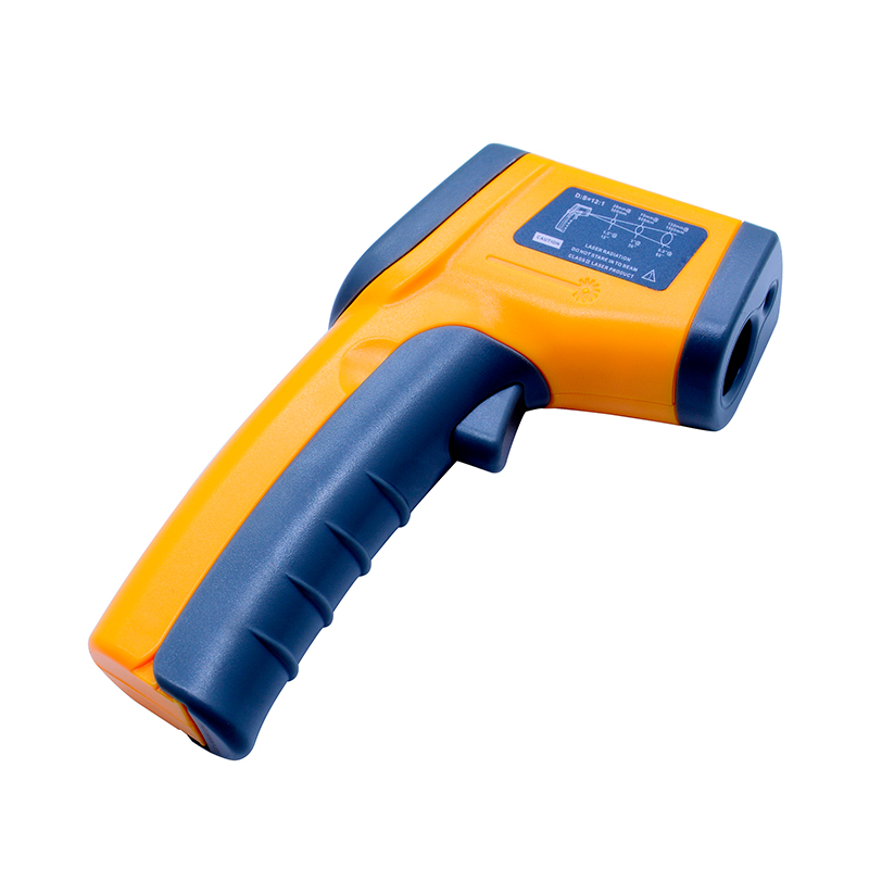 Image 2 - Бесконтактный цифровой лазерный инфракрасный термометр GS320 50 ~  360C ( 58 ~ 680F) температурная пирометр ИК лазерная точка  пистолетpoint gunpyrometer irnon contact -