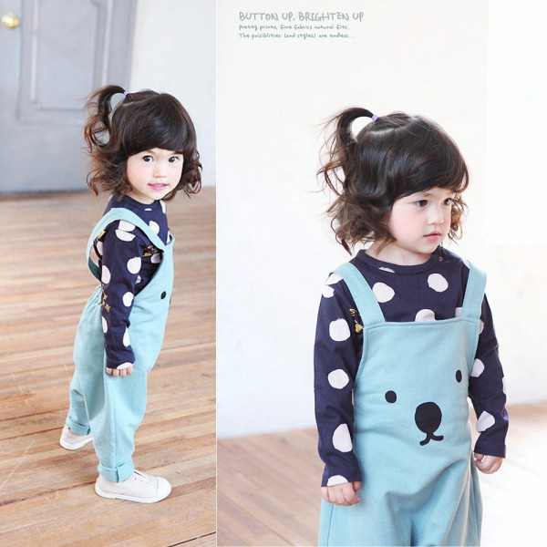 Kids-Baby-Girls-Boys-Unisex-Polka-Dots-Long-Sleeve-Tops-T-Shirt-Cotton-Basic-Tees-Clothing-5