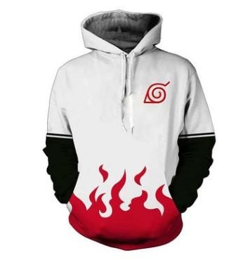 Naruto Hoodie 3D Full Printing –