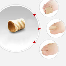 New Hot Sale 1Pc Soft Fabric Gel Finger Toe Separator Pain Relief Calluses Protector Feet Care 9IL
