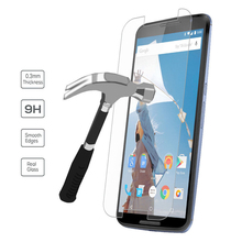 Premium Real 9H Tempered Glass Film Screen Protector Case for Google Pixel XL LG Nexus 6 5X Nexus 5 Nexus 4 D820 E960 XT1100
