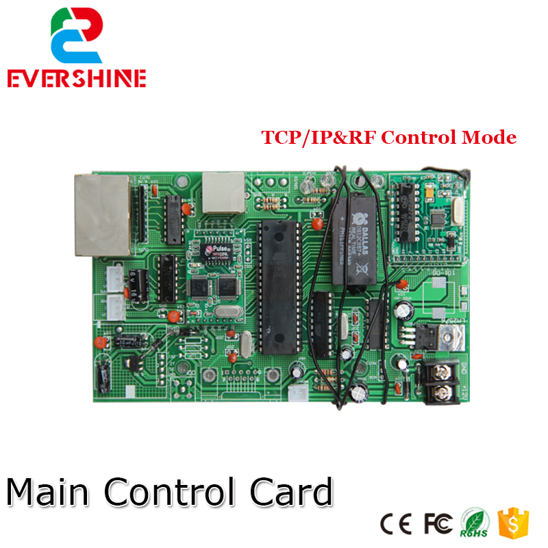 все цены на Main Control Card 12V TCP/IP Gas Oil Price LED sign Control Board Use for All Size Led Digital Number For Gas Station онлайн