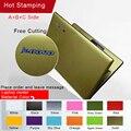 Свободной резки Чистый Цвет Ноутбука Стикер Личность Оболочки Защитные Стикеры наклейки Для Lenovo yoga 710-14/Y460/g460/g465/V450