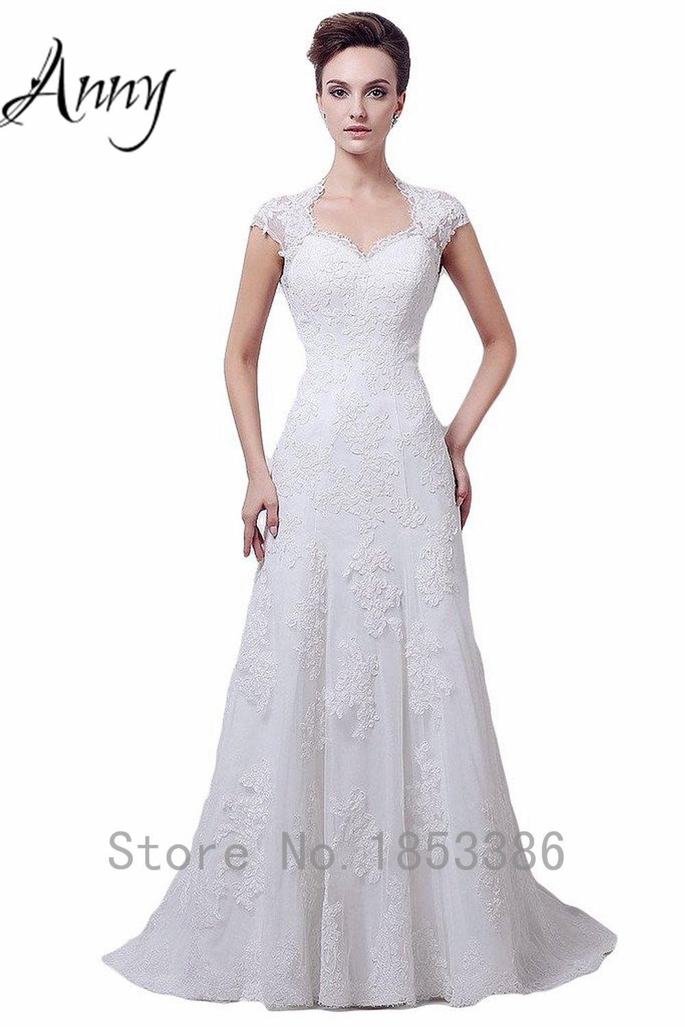 Modern Mature Sheath Cap Sleeve Floor length Open Back Guipure Lace ...