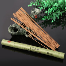 Home Portable Oriental Buddha Buddhist Aroma Nature Incense Sticks With Case Sandalwood Indoor Good for Sleep Health