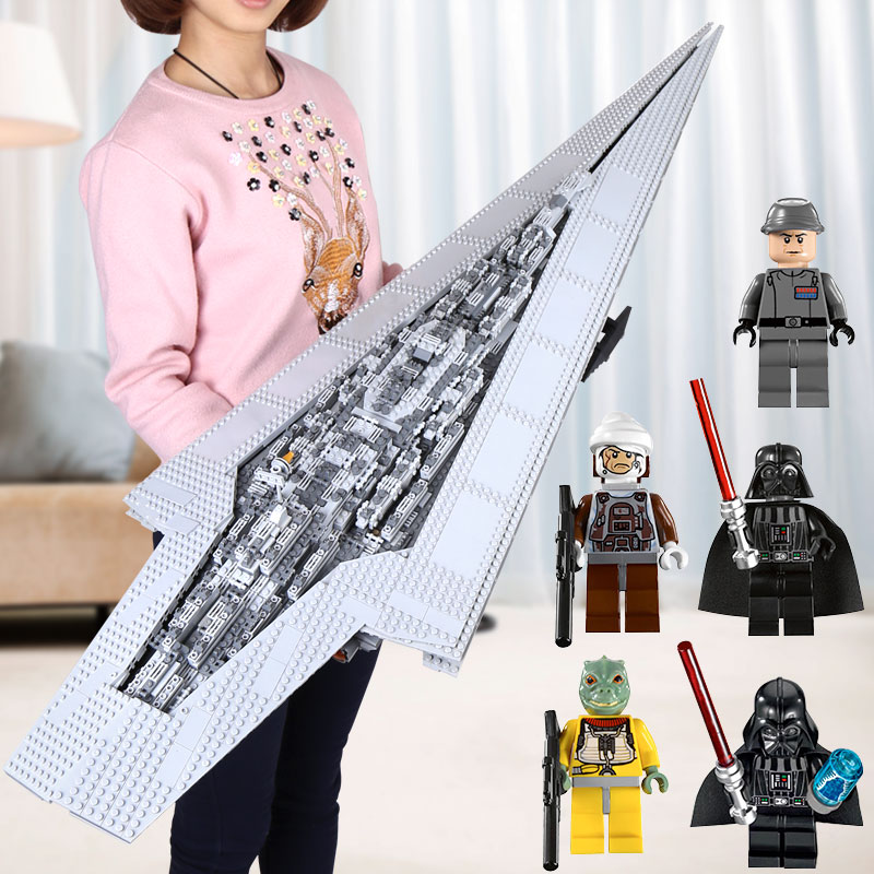 DHL LEPIN 05028 05027 05033 05035 Super Imperial Destroyer Star Model War Building Blocks Brick Executor Gift legoINGys 10221