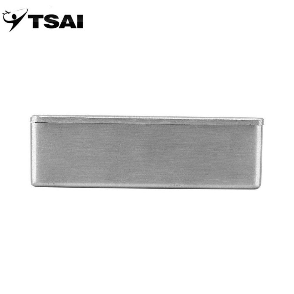 0cfeae60fb TSAI 1590B Style Effects Pedal Aluminum Stomp Box Enclosure for ...