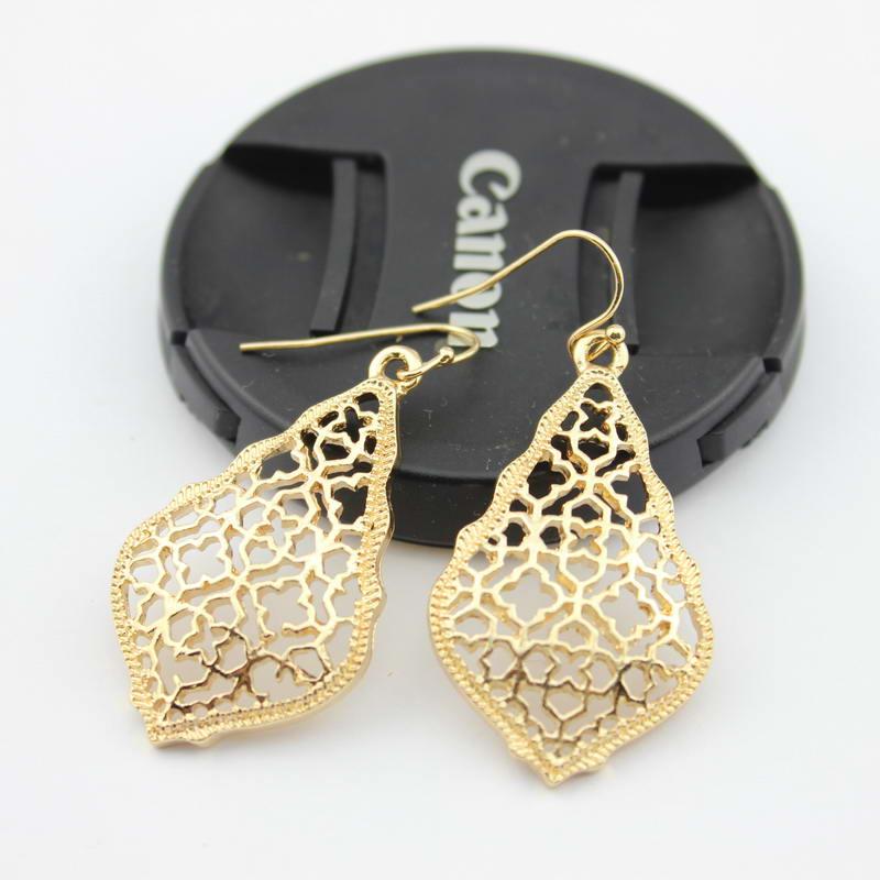 Abbie Addie Gold Drop Earrings 5
