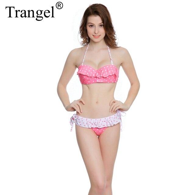 trangel womens swimwear 2017 thong bikini brazilian plus size