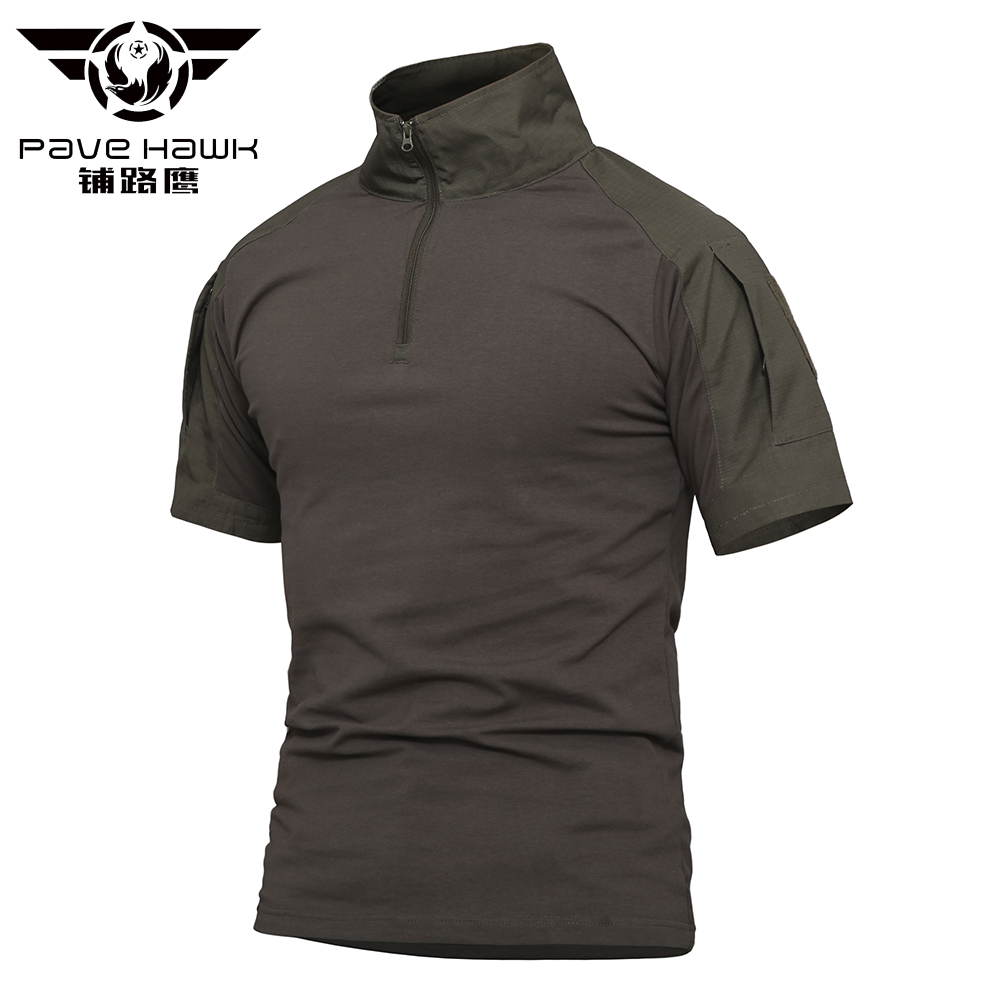 Frog Cotton Jerseys Summer   Polos   Mens   POLO   Shirts Short Sleeve Camisas   Polo   Casual Male   Polo   Shirt Military Army Tactical 4XL