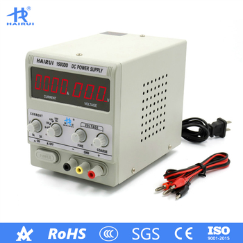 HAIRUI 1503DD+ DC Power Supply 110V/220V Laboratory LED Digital Display 15V 3A Regulated Adjustable Switching Power Supply