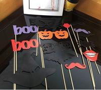 Модные горячие забавные изделия DIY фото стенд реквизит Усы на палочке Хэллоуин Вечерние