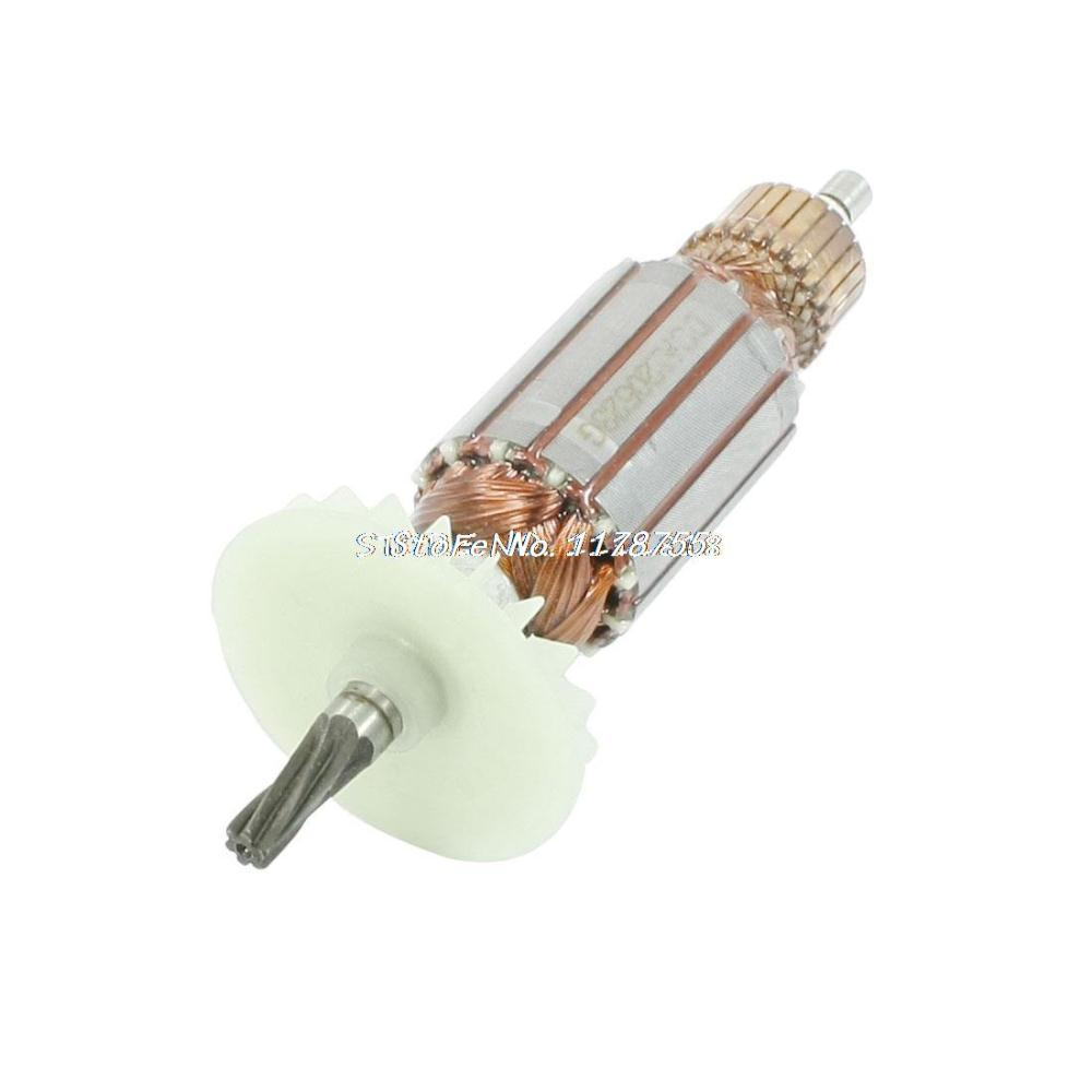 AC 220V Electric Motor Rotor 6 Teeth Drive Shaft for Bosch GBH2SE 24DSE Drill