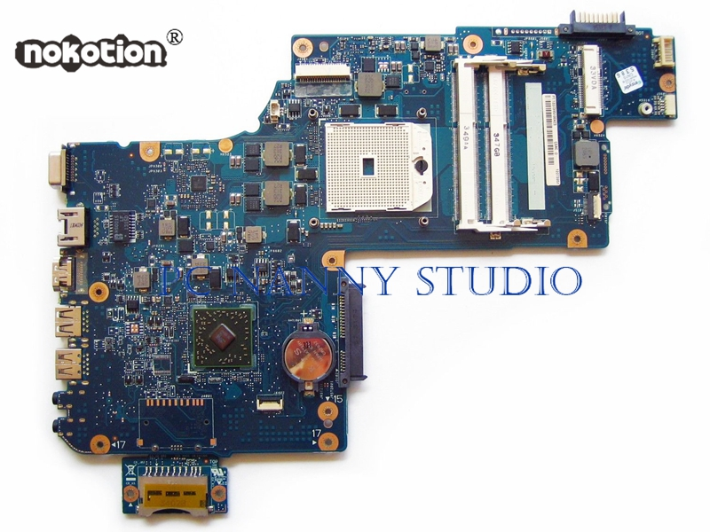 PCNANNY H000043580 płyta główna dla Toshiba Satellite C875D L870 L875 C875 laptopa płyta główna Socket fs1 DDR3 PLAC CSAC UMA w Płyty główne do laptopów od Komputer i biuro na AliExpress - 11.11_Double 11Singles' Day 1
