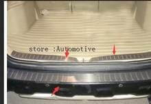3 шт накладка на задний багажник из нержавеющей стали для honda