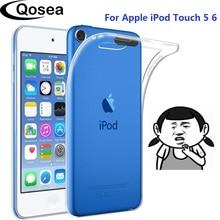 10 sztuk przezroczysty miękki TPU etui na Apple ipoda Touch 5 6 7 etui silikonowe jasne ochronne do ipoda Touch 5 6 7 z powrotem Capa Cover