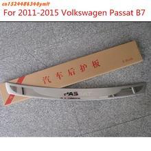Автомобильные аксессуары Высокое качество нержавеющая сталь Задний бампер протектор порога для 2005-2010 Volkswagen Passat B6