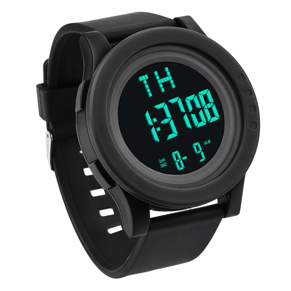 Digital watch men waterproof Luxury Men Analog Digital Military Army Sport LED Waterproof Wrist Watch A.3