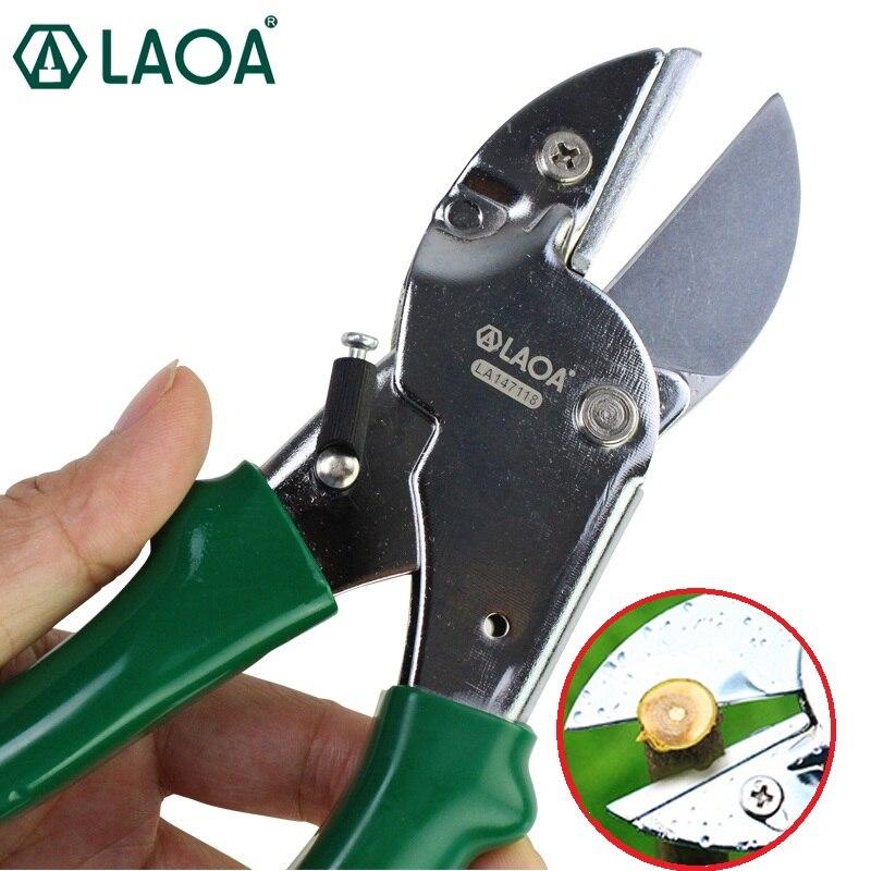 LAOA 8 Inch Pruning Shears SK5 Gardening Scissors For Household And Garden Shears Pick The Fruit Cutting Range 15mm 20mm
