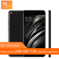 Global Version Original Xiaomi Mi6 Mi 6 6GB RAM 64GB ROM Mobile Phone Snapdragon 835 Octa Core 12MP Dual Camera Fingerprint