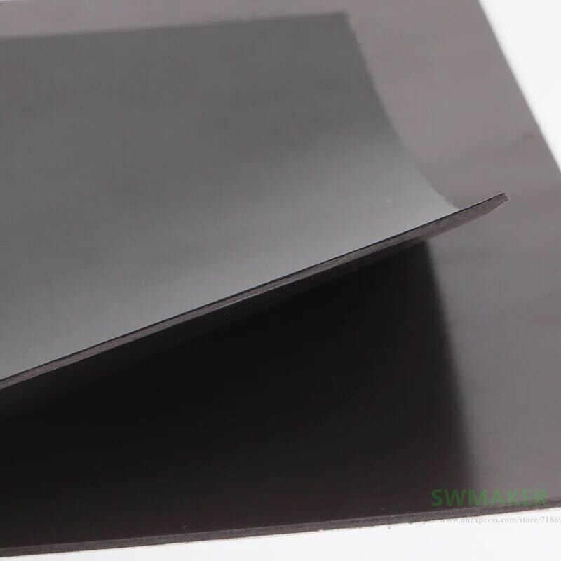 A + B 280 × 242 ミリメートル磁気粘着プリントベッドテーププリントステッカー表面フレックスプレートと 3 メートル diy Flyingbear P905X 3D プリンタ