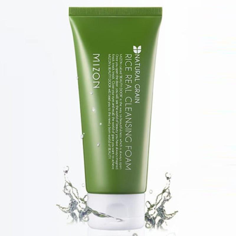 MIZON Rice Real Cleansing Foam 150ml Skin Care Cleanser Moisturizing Brightening Korea Cosmetic