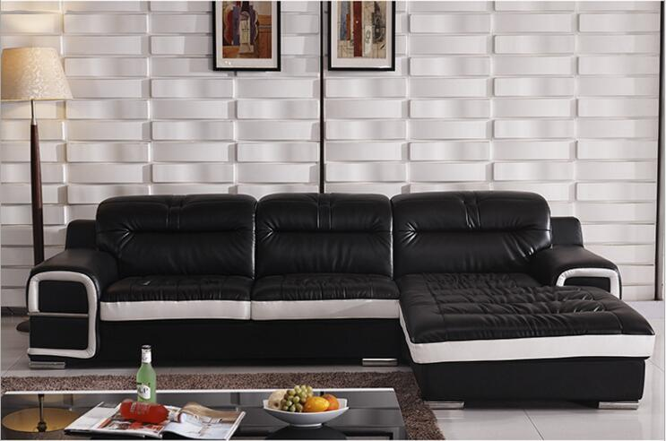 Modern Style  Living Room Genuine Leather Sofa A1312