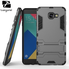 PC+PU Hybrid Phone Case Cover For Samsung Galaxy A7 (2016) Case SM-A710F 5.5 inch A710 A710F A7100 Case Military Armor Housing qijun glitter bling flip stand case for samsung galaxy a7 a 7 a700f 2016 a710 2017 a720 sm a720f wallet phone cover coque