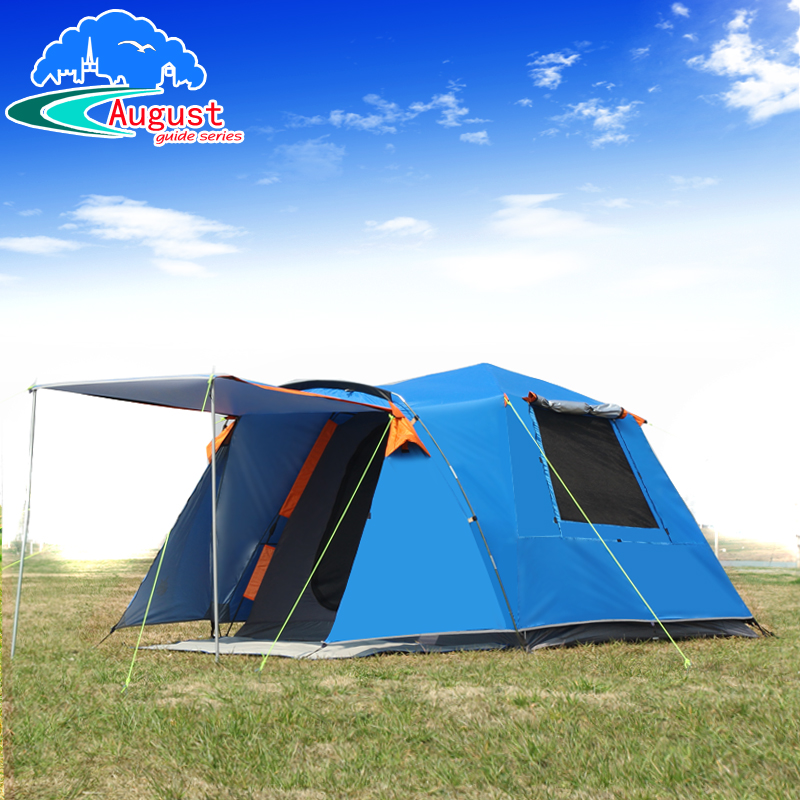 Outdoor 3-4 people fully automatic one bedroom one camping camping rainproof sunproof family wild big tentOutdoor 3-4 people fully automatic one bedroom one camping camping rainproof sunproof family wild big tent