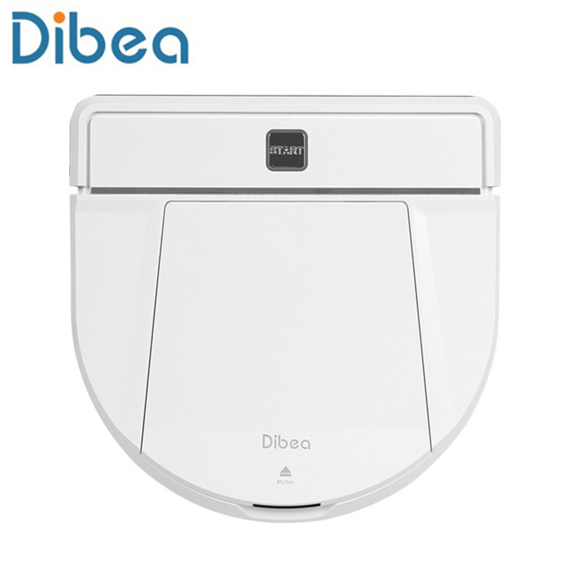 Dibea Smart Robot Vacuum Cleaner With Wet/Dry Mopping Wireless Vacuum Cleaner Powerful Suction home Cleaning large battery Brand цена и фото