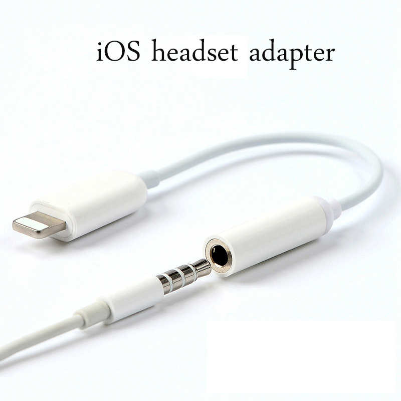 quality design 27730 5901a Suntaiho for Apple Lighting Audio Converter 3.5mm Audio headphone jack  adapter Play Music for iPhone XS MAX XR 8 plus 7 plus X