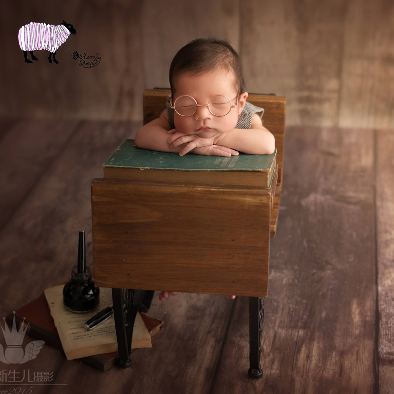 Mother & Kids Newborn Photography Prop Wood Circle Basket Baby Boy Girl Photo Shoot Studio Session Posing Bed Prop Bebe Fotografia Accessories Cheap Sales