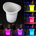 ICE BUCKET Color Changing 12-LED Tongs Holder Wine Drinks Cooler Party