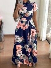 Style women dress womens flower short sleeve elegent sexy clothing new laides female dresses цена