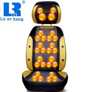 Image 1 - Máy Mát Xa Cổ Lưng Làm Nóng Massage Điện Lưng Con Lăn Massage Đa Năng Nệm Massage Toàn Thân