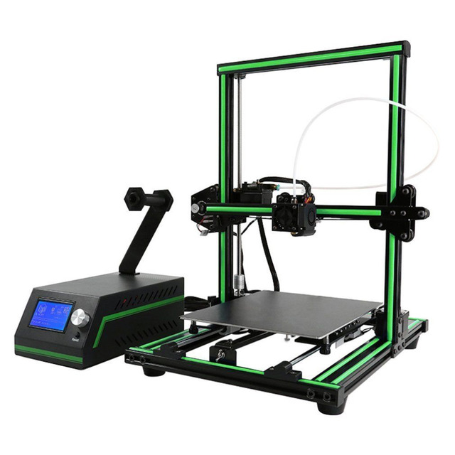 LCD Display Professional 3D Printer High Precision Aluminum Alloy Frame Large Printing Size DIY 3D Printer Kit 5