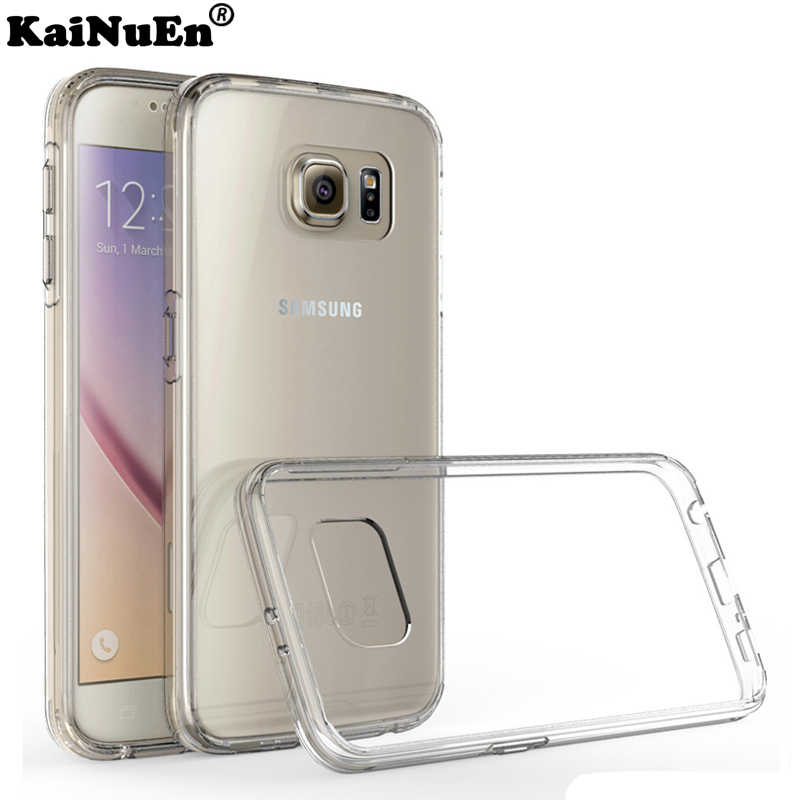 Silicon case voor Samsung Galaxy s6 s 6/s6 rand s6edge case Silicone 3d coque tpu telefoon gevallen Luxe originele Cover Bag Soft