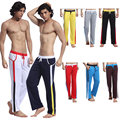 Men's Casual Pants Sweat Full Pant Underwear Rope Trousers S M L XL