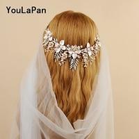 YouLaPan HP225 Wedding Crown Hair Accessories Luxury Retro Style with Original For Bridal Crown wedding Hair tiara Headwear