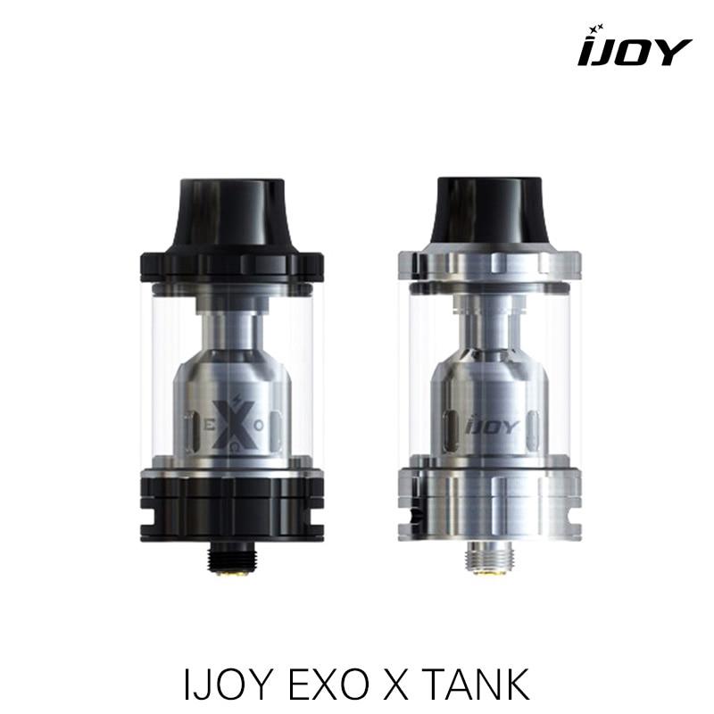 100% Authentic IJOY EXO X vape Tank 4.7ml E-juice Sub-ohm Capacity 510 Vaporizer XS-C1/XS-C4 Coil Electronic Cigarette Atomizer